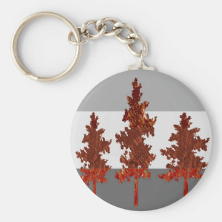 Help Save Trees - Healthy Environment Basic Round Button Key Ring