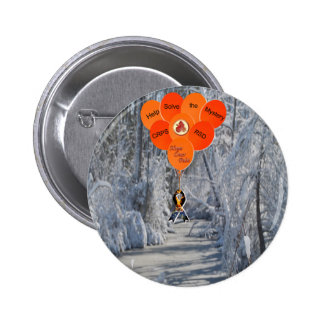 Help Solve the Mystery CRPS RSD Hope Over Pain Bal 6 Cm Round Badge