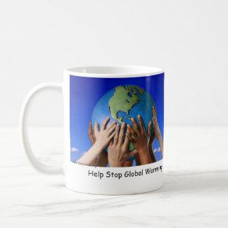 Help Stop Global Warming Basic White Mug