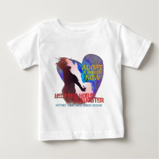 Help Stop Horse Slaughter Baby T-Shirt