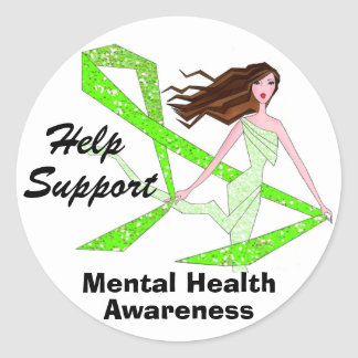 Help Support Mental Health Awareness stickers