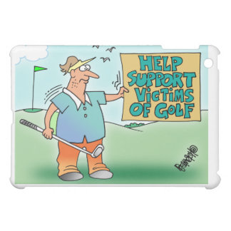 Help Support Victims Of Golf Ipad Mini Case