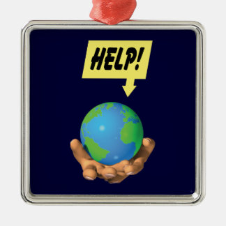 Help the Earth Christmas Ornament