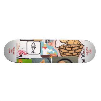Help the Hungry Skateboard