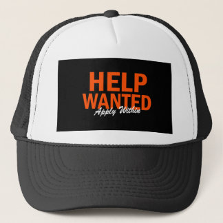 Help Wanted Apply Within Cap