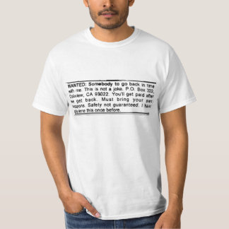 HELP WANTED T SHIRT
