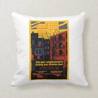 Help Your Neighborhood Cushion