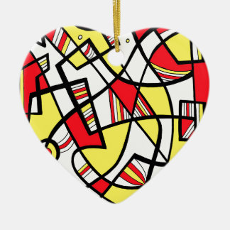 Helpful Creative Fair-Minded Imagine Ceramic Heart Decoration