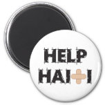 HelpHaitiText4.ai Refrigerator Magnets