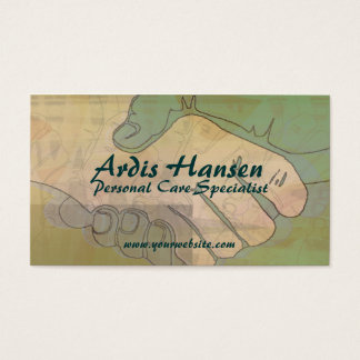 Helping Hands Caregiver Business Cards