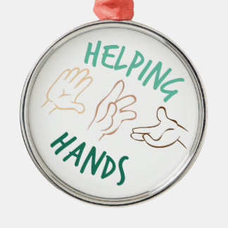 Helping Hands Christmas Ornament