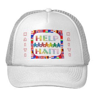 Helping Hands- Haiti Hat Mesh Hat