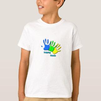 helping hands kids T-Shirt