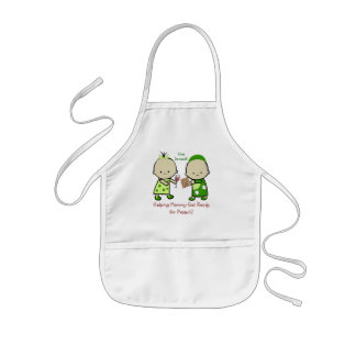 Helping Mommy for Pesach Kids' Apron
