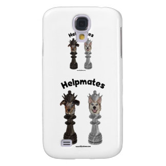 Helpmates Chess Dogs Samsung Galaxy S4 Cases
