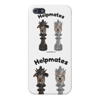 Helpmates Chess Dogs iPhone 5 Case