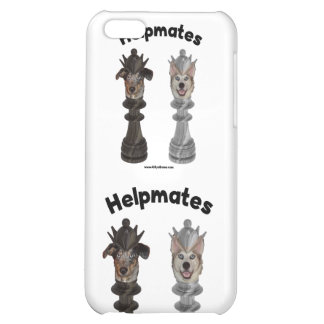 Helpmates Chess Dogs Case For iPhone 5C