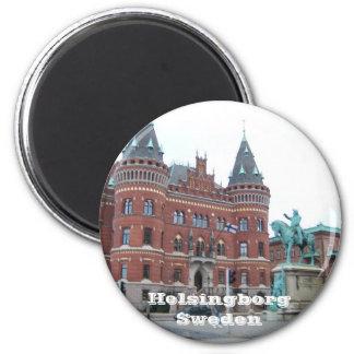 Helsingborg Sweden 6 Cm Round Magnet