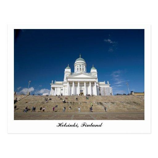 Helsinki Cathedral Postcard