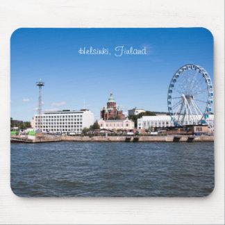 Helsinki Cityscape Mouse Mat