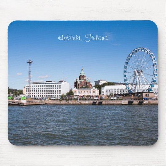 Helsinki Cityscape Mouse Pad