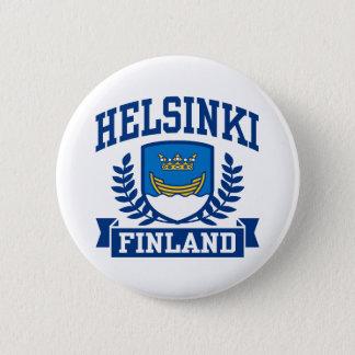 Helsinki Finland 6 Cm Round Badge