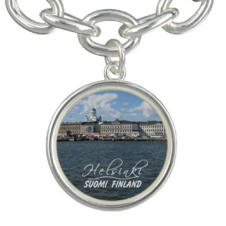 HELSINKI Finland charm bracelet / charm