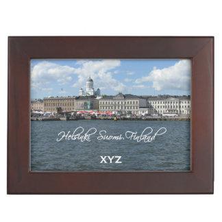 HELSINKI Finland custom keepsake box