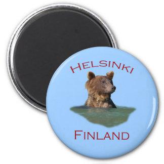Helsinki, Finland Fridge Magnet
