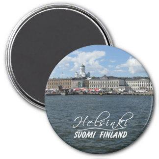 Helsinki Harbor magnet