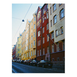 Helsinki street postcard