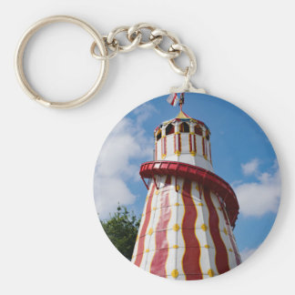 Helter Skelter Basic Round Button Key Ring