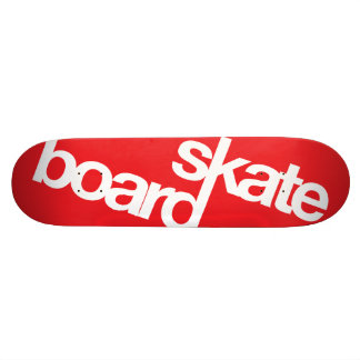 Helvetiboard Neue Red 21.6 Cm Skateboard Deck