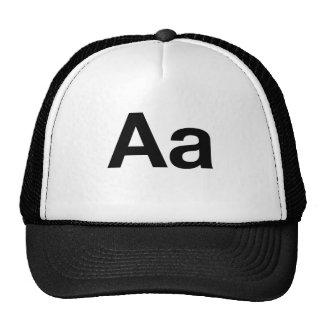 Helvetica Aa Hat