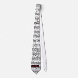 Helvetica Advanced Vapid Tie