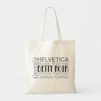 Helvetica bag