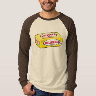 Helvetica Cheese T-Shirt
