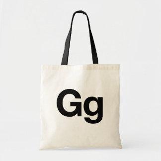 Helvetica Gg Budget Tote Bag