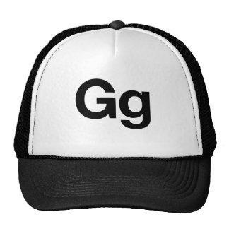 Helvetica Gg Mesh Hats