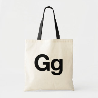Helvetica Gg Tote Bag