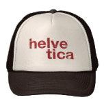 helvetica hat
