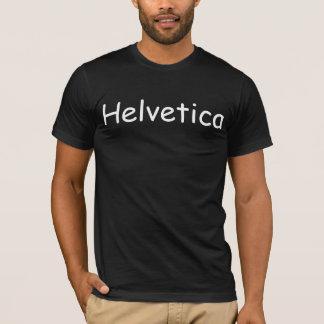 Helvetica in Comic Sans T-shirt