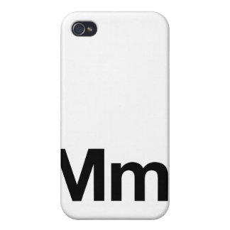 Helvetica Mm Case For iPhone 4