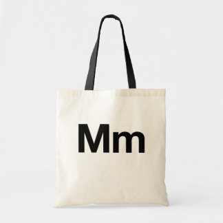Helvetica Mm Budget Tote Bag