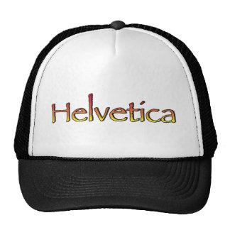 Helvetica Papyrus Trucker Hat