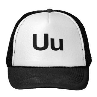 Helvetica Uu Trucker Hats