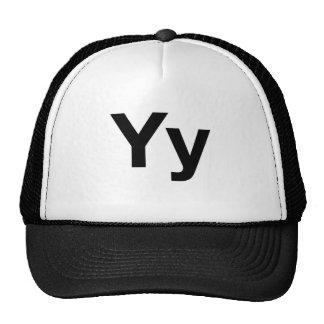 Helvetica Yy Trucker Hat