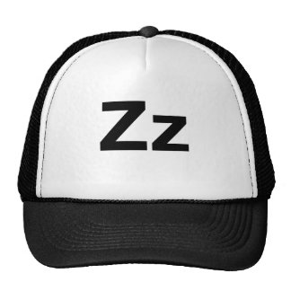 Helvetica Zz Mesh Hats