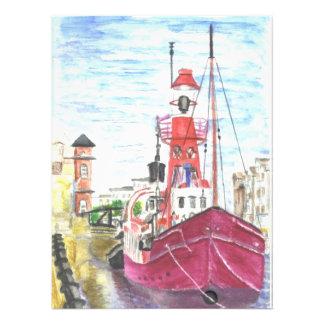 Helwick Tug Boat Swansea Photo Art