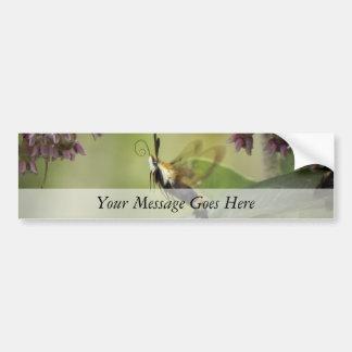 Hemaris Thysbe - Hummingbird Moth Car Bumper Sticker
